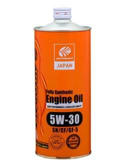 Масло моторное  5W-30  AUTOBACS ENGINE OIL API SN/CF ILSAC GF-5 SYNTHETIC (1л)